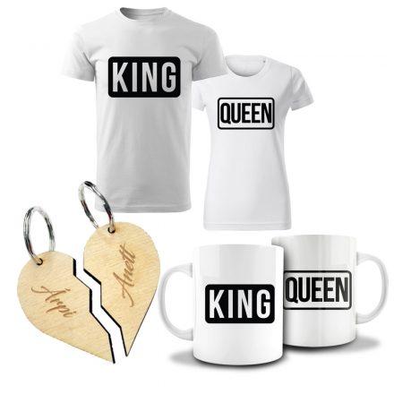 Valentin napi páros csomag King & Queen III.