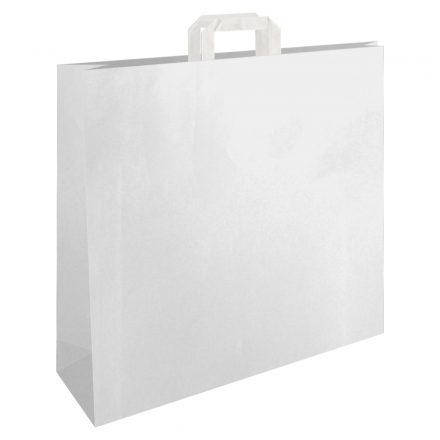 Szalagfüles papírtáska 32x12x41 cm két színben
