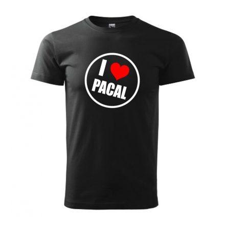 Póló - I Love Pacal