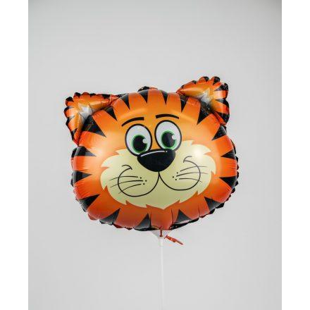 Tigris formájú fólia léggömb