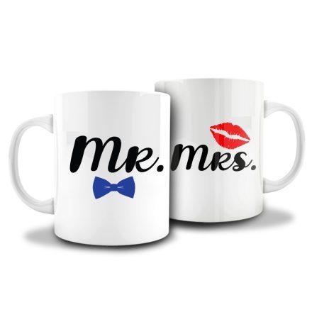 Páros bögre - Mr & Mrs