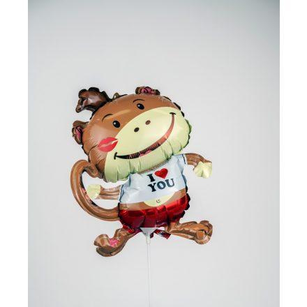Puszis majom fólia léggömb