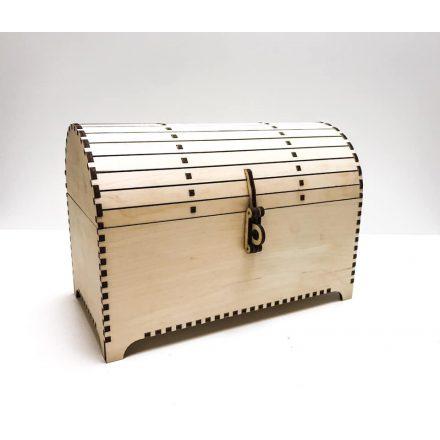 Fából készült díszdoboz