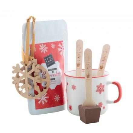 Forrócsokis karácsonyi ajándékcsomag