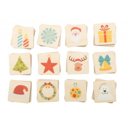 Karácsonyi memóriajáték (24db-os)
