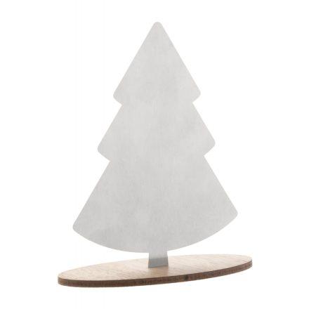 Rozsdamentes asztaldísz (Karácsonyfa)