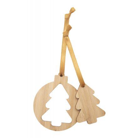 Karácsonyfadísz szett fenyőfa