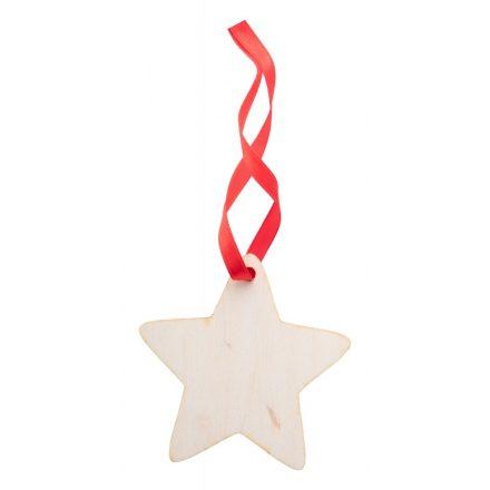 Karácsonyfadísz Csillag