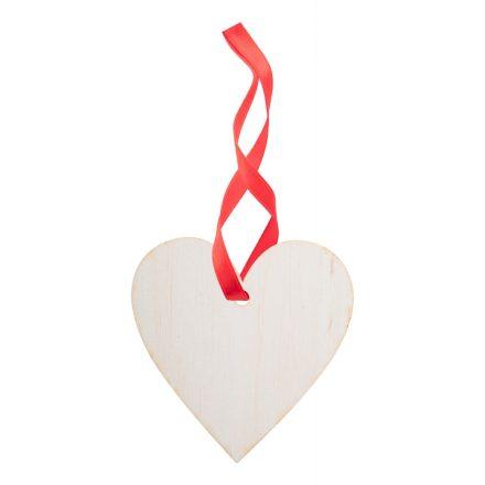Karácsonyfadísz Szív