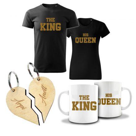 Valentin napi páros csomag King & Queen II.
