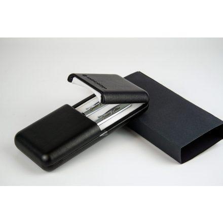 Gravírozható fém toll szett műbőr díszdobozban